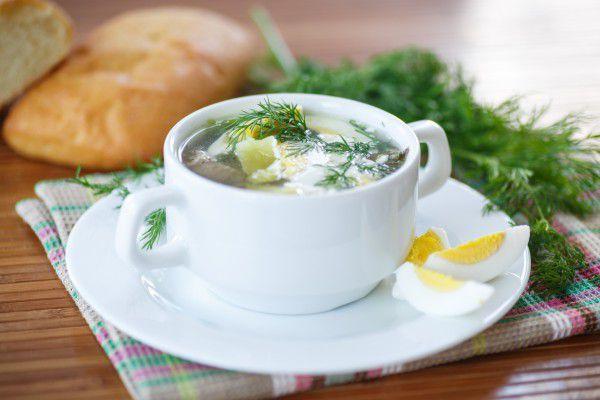 Вкусный суп из щавеля рецепт с фото
